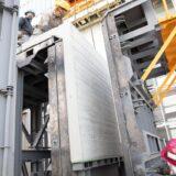 杉板模様の「塀のねっこ」 (東北で防雪塀利用) 耐震プレキャストコンクリート塀 高さ2.1M